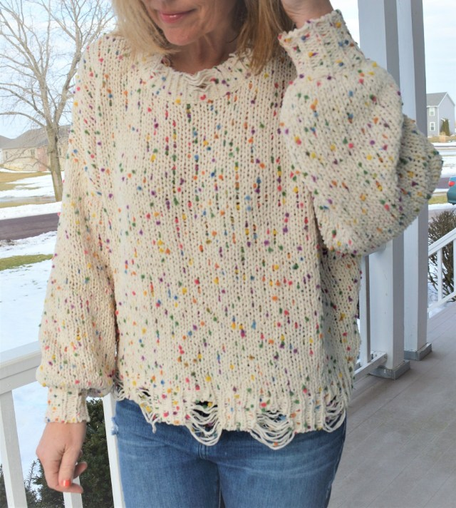 My Sister's Closet Boutique Pot of Gold Sweater