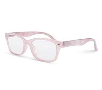 Blush Marble Blue Light Filtering Reading Glasses