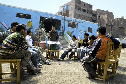 The Recycling School, photo via flickr.com/photos/garbagedreams/