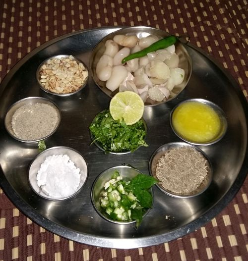 Chatpata Singhada Ingredients