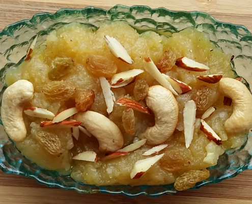 Aalu Potato Halwa