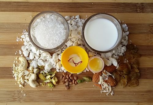 Ingredients for Phool Makhana Kheer
