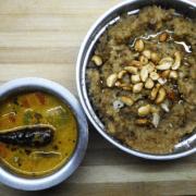 Chakkara pongal and 7kari kootu
