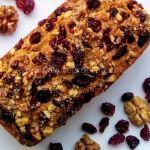 Cranberry and Walnut Cake