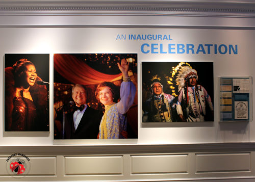 Inaugural celebration at the Carter Museum