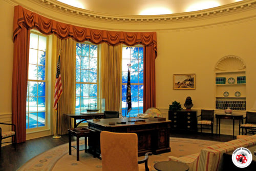 Oval Office at the Jimmy Carter Museum