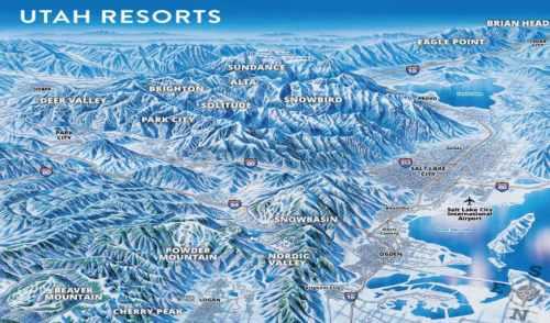 Utah Ski Resorts by SkiUtah.com