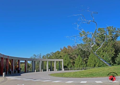 Entrance to Crystal Bridges Museum of American Art