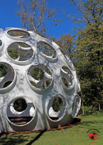 Fly's Eye Dome at Crystal Bridges