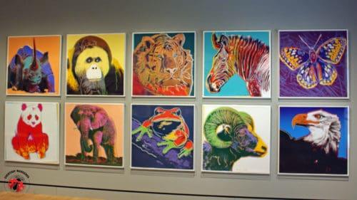 Andy Warhol Pop Art Animals at Crystal Bridges