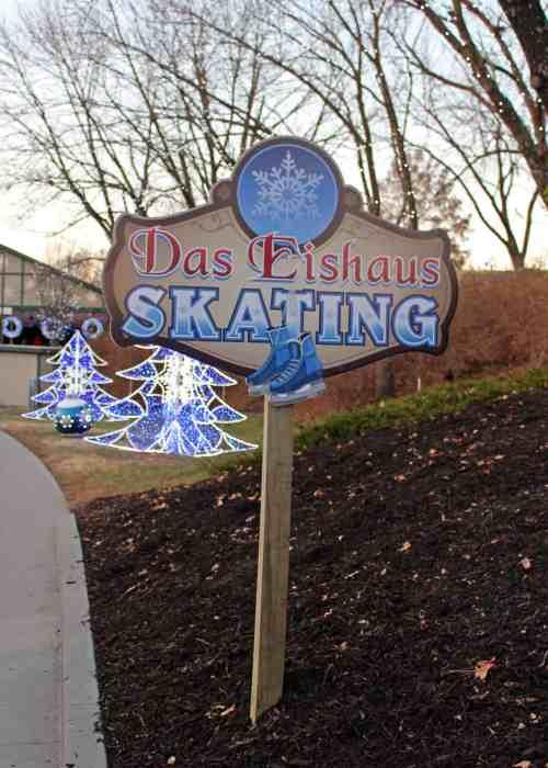 Ice Skate at Das Eishaus at WinterFest at Worlds of Fun