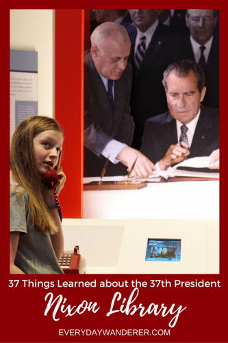 37 interesting things about the 37th president that you can learn when you visit the Nixon Library and Museum #california #president #nixon