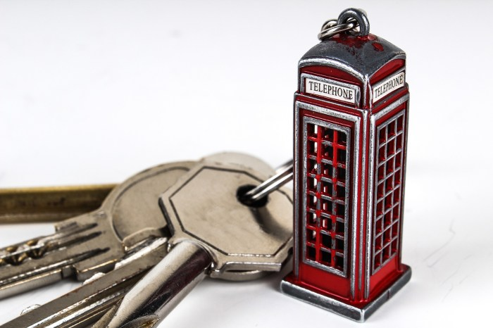Keychains make affordable souvenirs