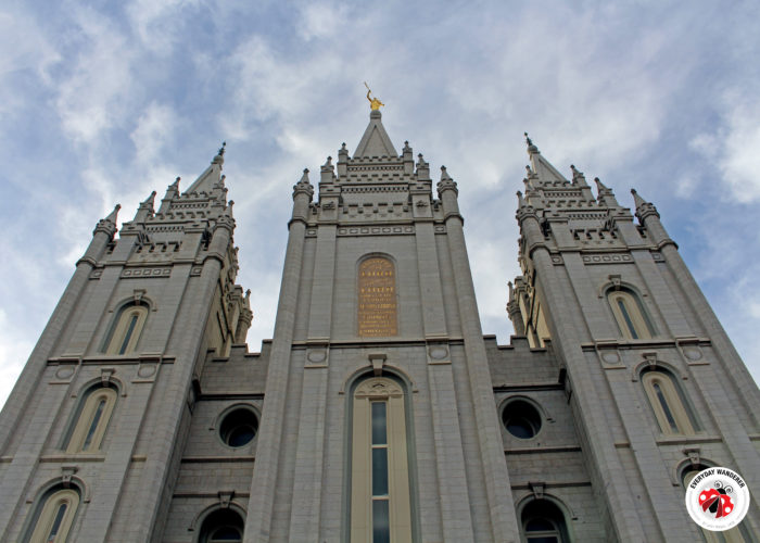 The Salt Lake Temple is the crown jewel of Temple Square