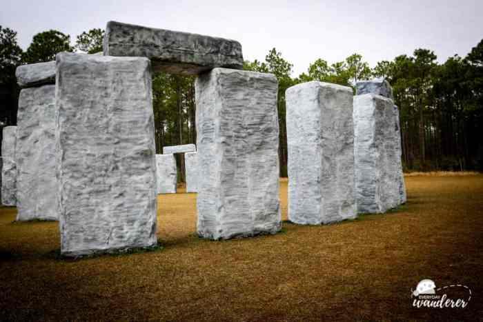 Quirky Outdoor Sculptures at the Barber Marina in Elberta, Alabama