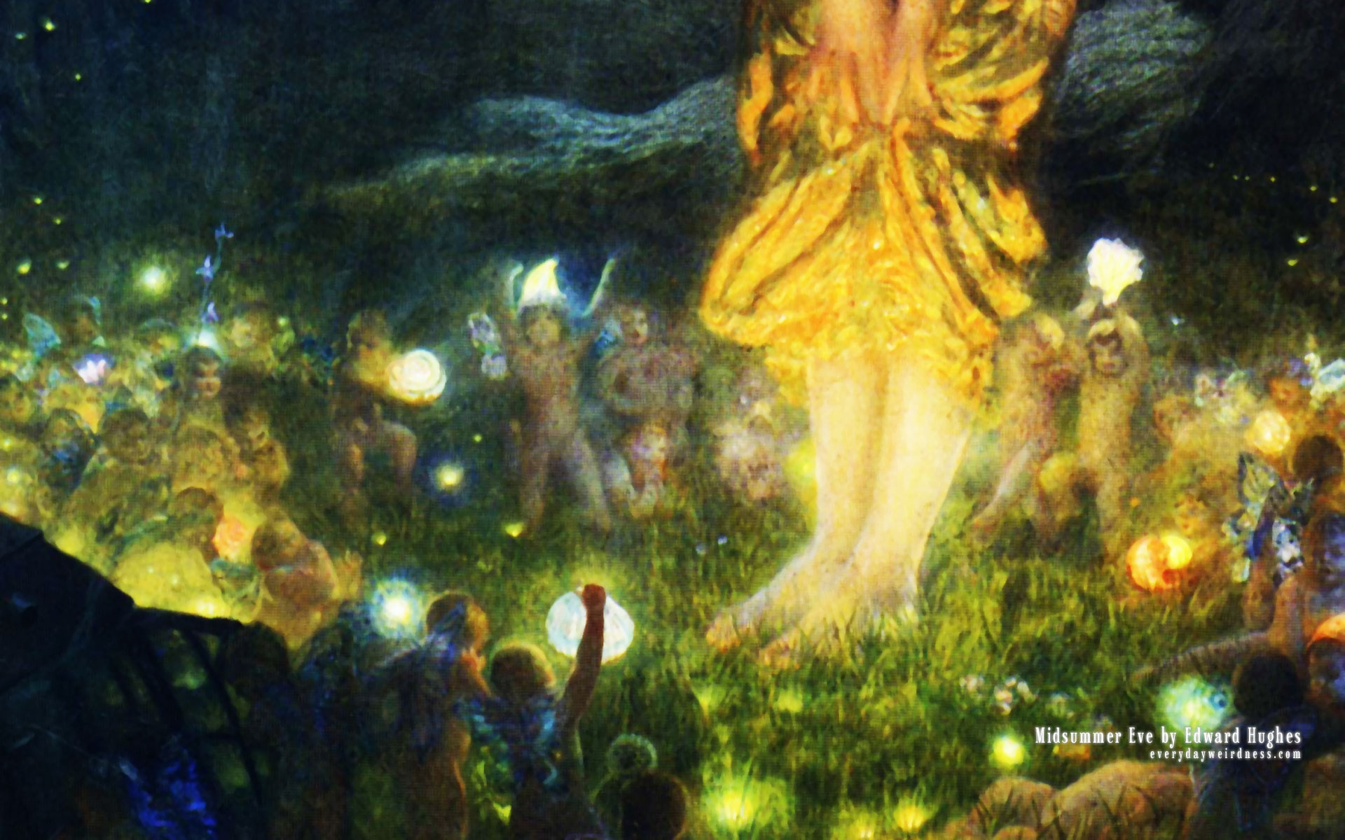 Midsummer Eve by Edward Hughes - Everyday Weirdness (June 20th 2009)