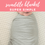 Everyday Wholesome Stretchy Swaddle Blanket How To Make Diy Baby No Sew