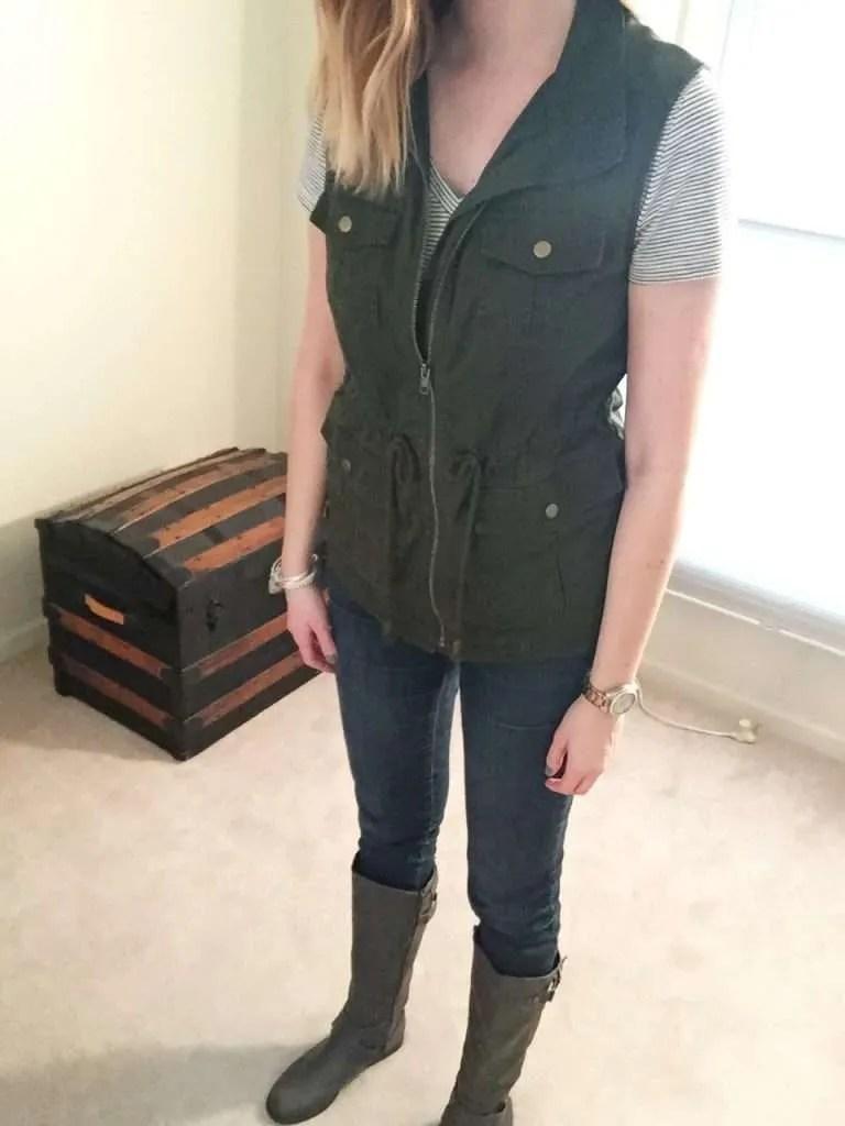 Utility Vest 3 Ways | CaitlinCosmetologist