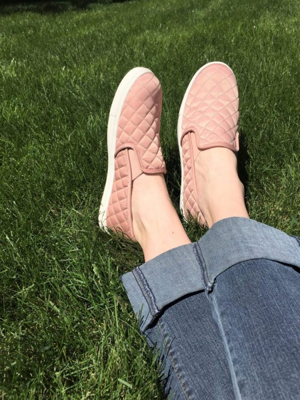 Affordable Blush Sneakers | CaitlinCosmetologist