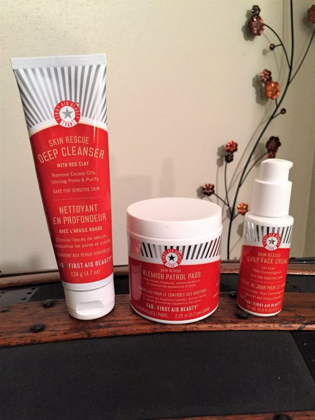 Skin Care ft. First Aid Beauty Skin Rescue | Caitlin Cosmetologist