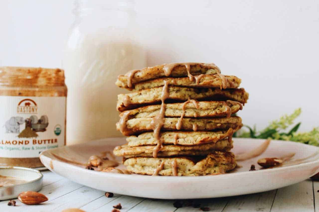 Candida friendly coconut flour pancakes will keep you full all morning long. Perfect pancakes for the candida diet. Gluten Free. Dairy Free. Sugar Free.