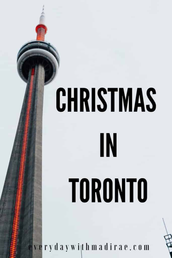 Christmas in Toronto - Detailed guide of celebrating Christmas Eve & Christmas Day in Toronto, Onatario. Where to eat & what to do in Toronto!