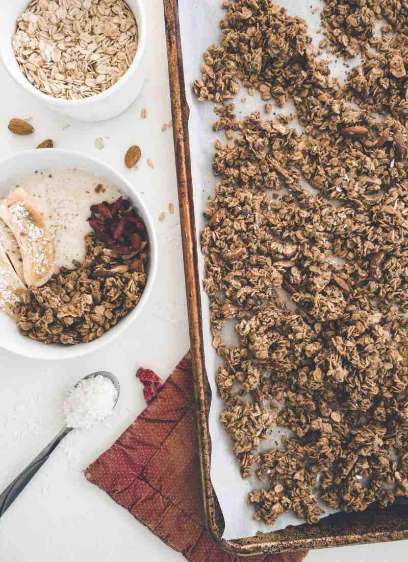 Almond Coconut Granola – Gluten & Dairy Free