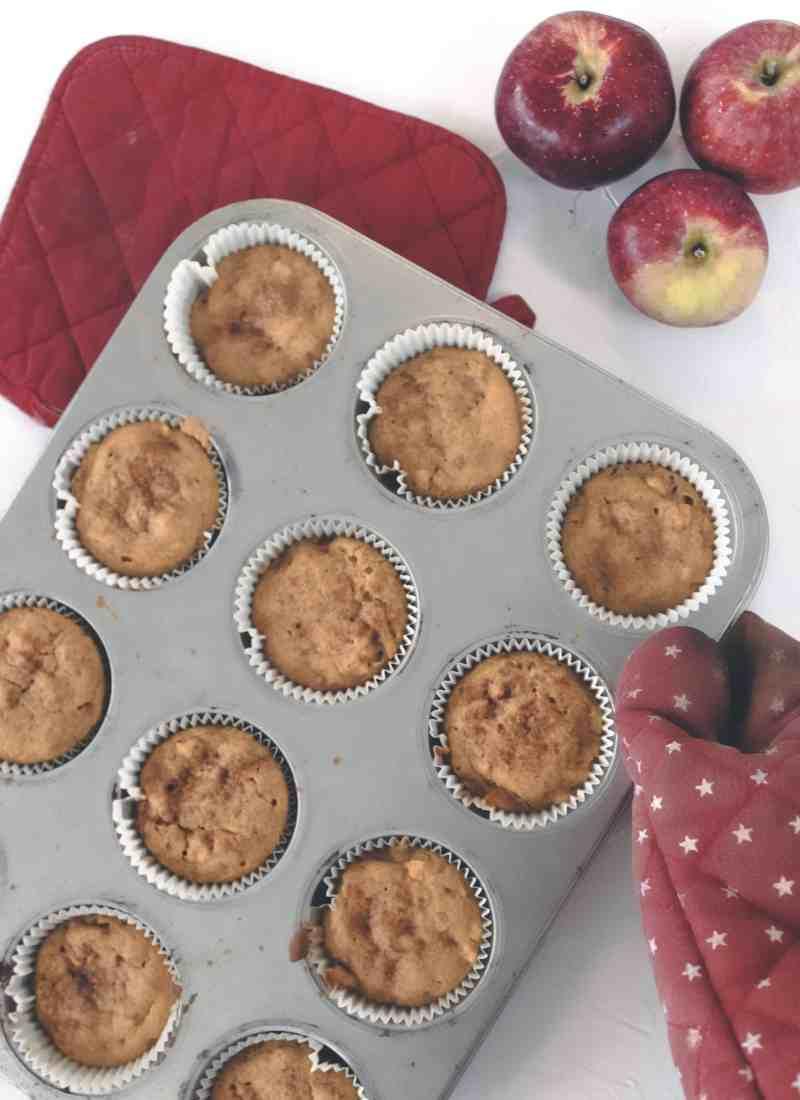 Gluten Free Pumpkin Apple Muffins
