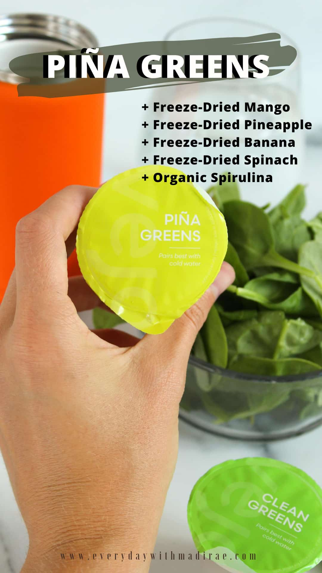 Sharing my honest Vejo review complete with biodegradable smoothie pods, a convenient portable blender, amazing taste, & good nutrition!
