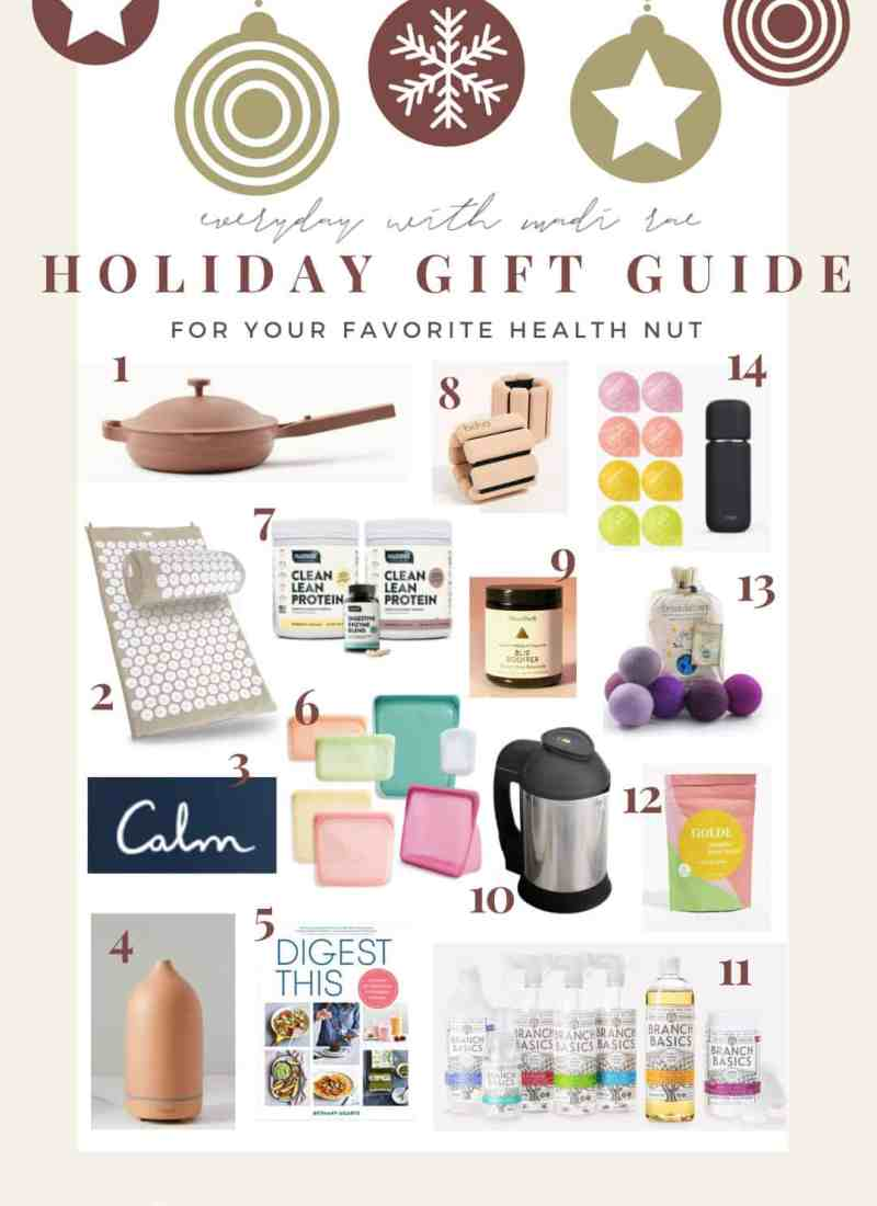Sharing my 2020 Health & Wellness Holiday Gift Guide! Including 14 health & wellness items that are sure to impress at any price point!