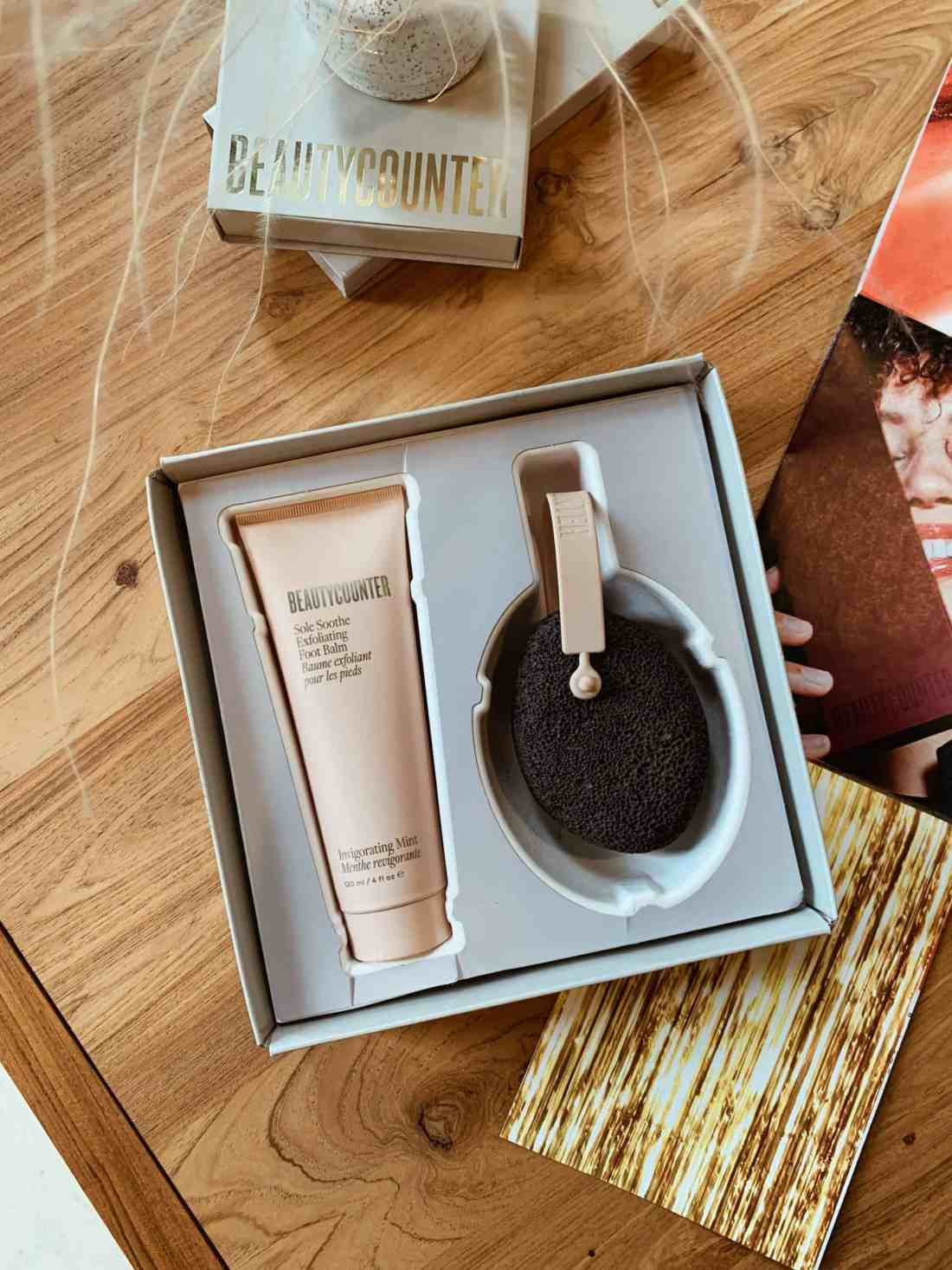 2021 Beautycounter Holiday Collection Review: Solemates Exfoliating Duo