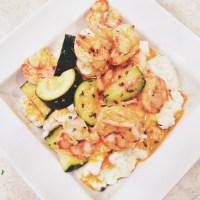 Weeknight Staples | Lemon Garlic Shrimp & Creamy Mashed Cauliflower