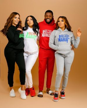 Celebrities Rush Mercy's New 'Wanna Relass' Brand 1