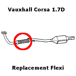 Vauxhall Corsa 1.7D 1994-2000 DIY Exhaust Replacement