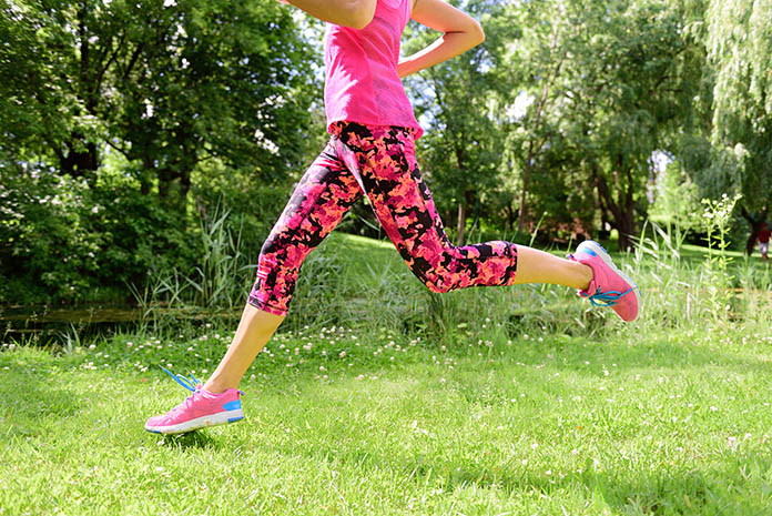 Running-With-Compression-Tights