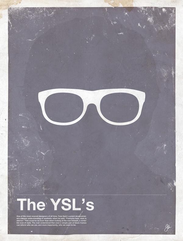framework yves Framework   Eyewear Made Famous Posters
