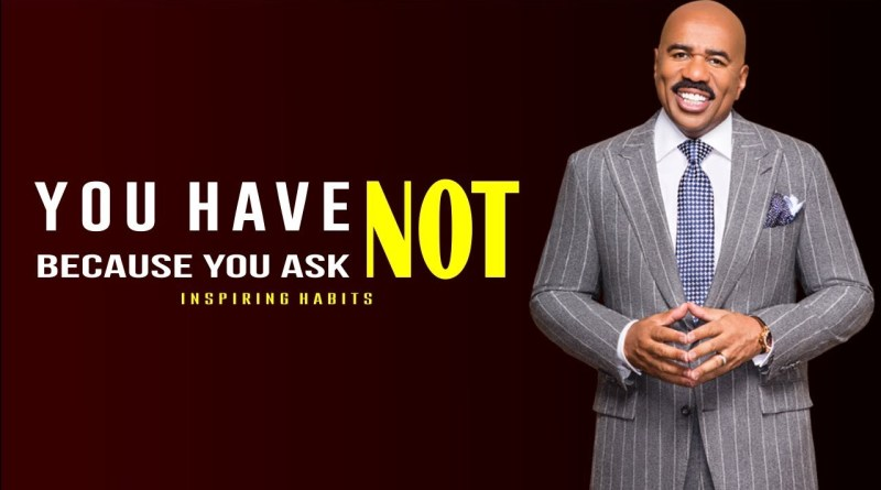 You Have Not Because You Ask Not Steve Harvey Rags To Riches Video Testimony Every Habit Counts This is a very popular scripture to quote—especially when you are praying and believing god for something in your life. steve harvey rags to riches video