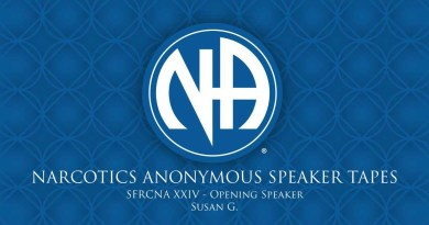 SFRCNA XXIV: Opening Speaker - Susan G. (Narcotics Anonymous Speaker Tapes)
