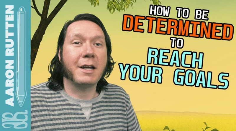 How to Be DETERMINED to Reach Goals - Digital Artist Vlog