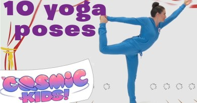 10 Yoga Poses | Cosmic Kids Yoga Compilation