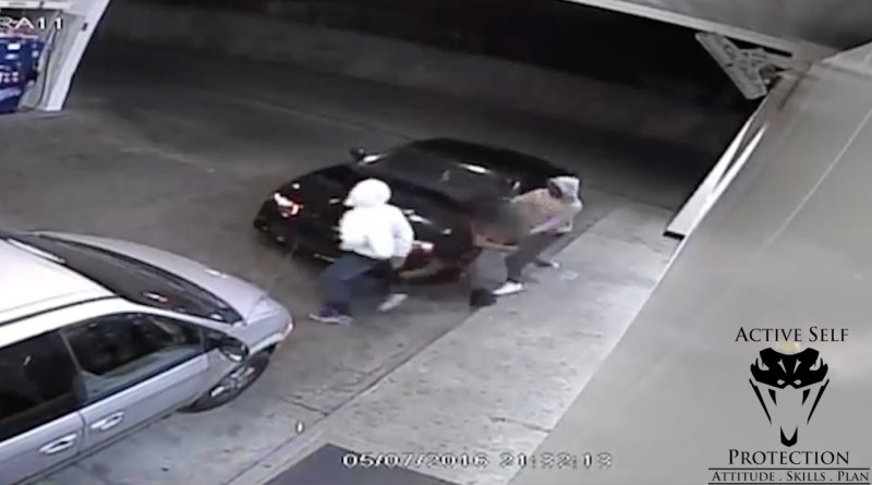 Determined Woman Won't Stop Fighting Carjacker