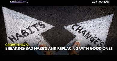 Breaking Bad Habits and Replacing With Good Ones