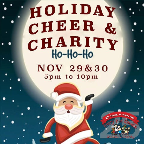 Holiday Cheer and Charity – Volunteers Needed!