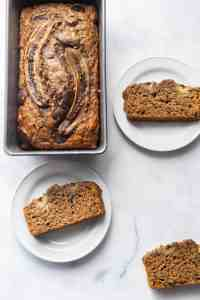Healthy Easy Skinny Banana Bread that tastes like the real deal