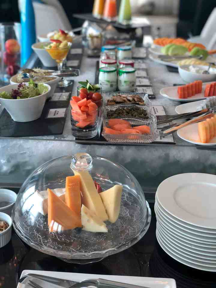 club millesime at sofitel abu dhabi breakfast buffet