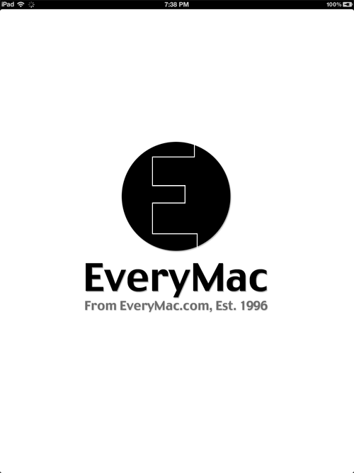EveryMac App for iPad Details: EveryMac.com
