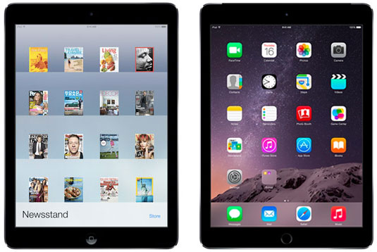 differences between ipad air