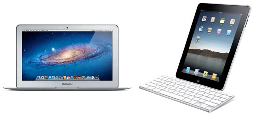 Differences Between iPad and MacBook Air: EveryMac.com