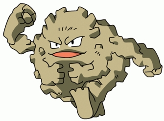 Image result for graveler pokemon