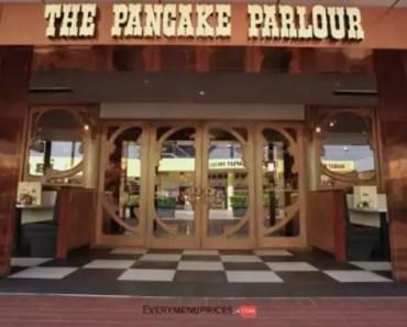 Pancake Parlour Menu Prices [2021 Updated]